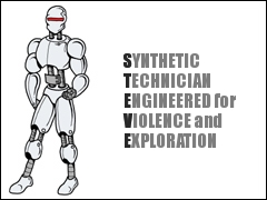 Synthetic Technician Engineered for Violence and Exploration